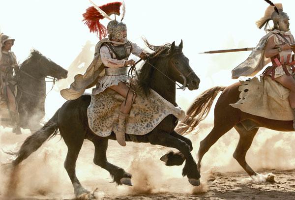 Alexander the great on bucephelus